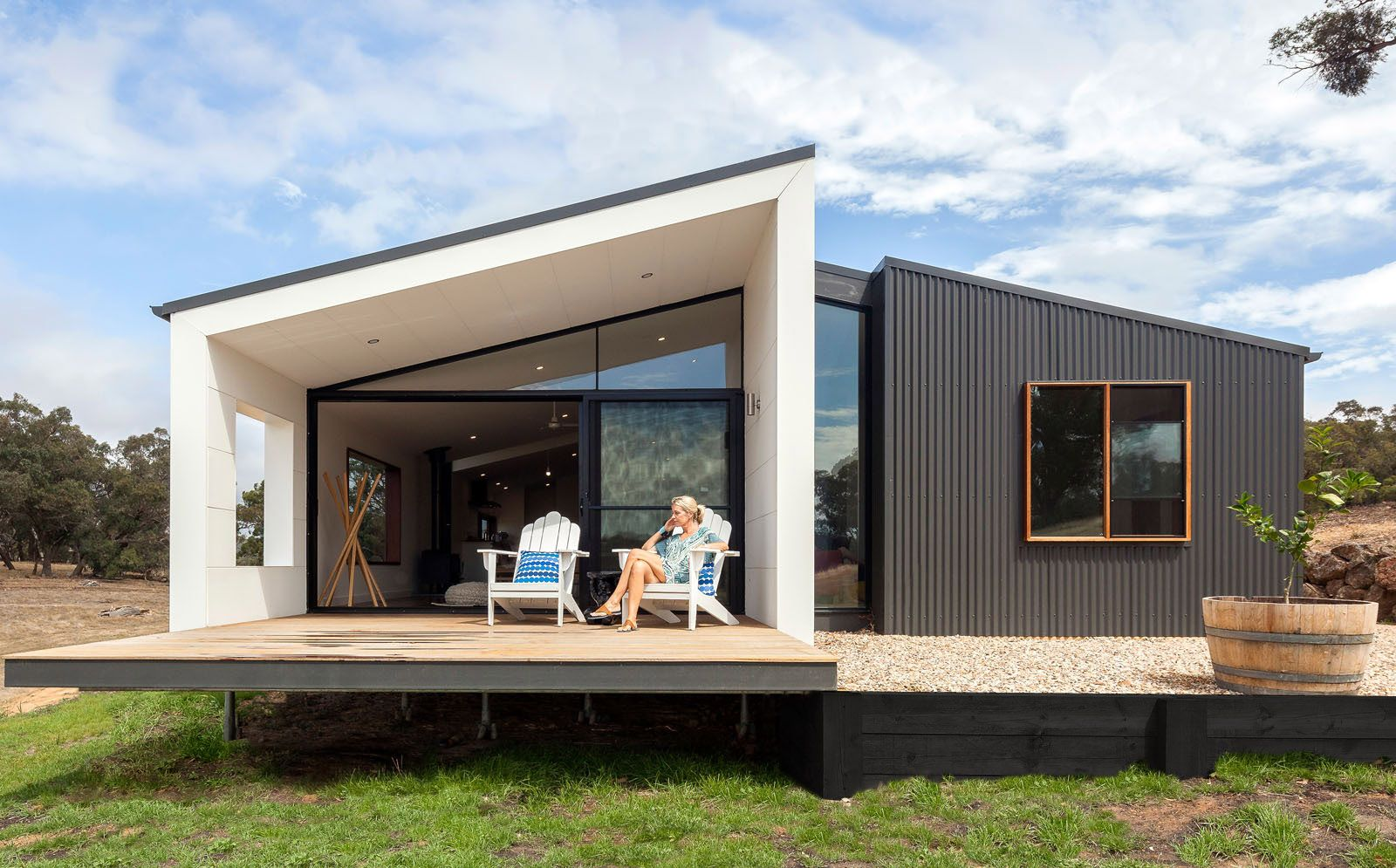Steel prefab house grand designs