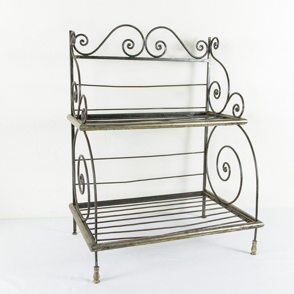 Counter Top Iron Baker S Rack Products Bakers Rack Countertops Counter