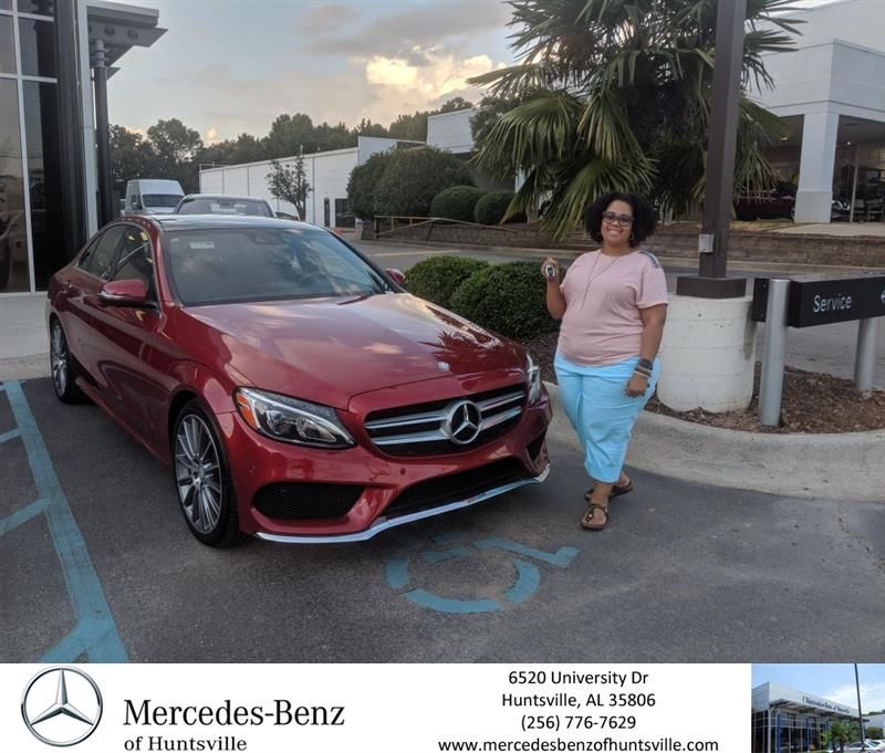 Congratulations Kari On Your Mercedes Benz C Class From Joe Yacka At Mercedes Benz Of Huntsville Mercedes Benzofhuntsville Mercedes Benz New Mercedes Benz