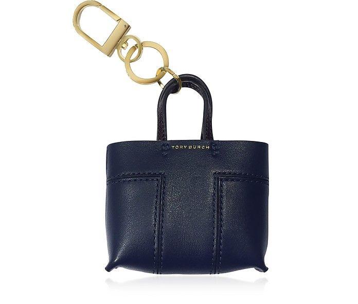 TORY BURCH Mini Block T Tote Key Fob. #toryburch #bags #