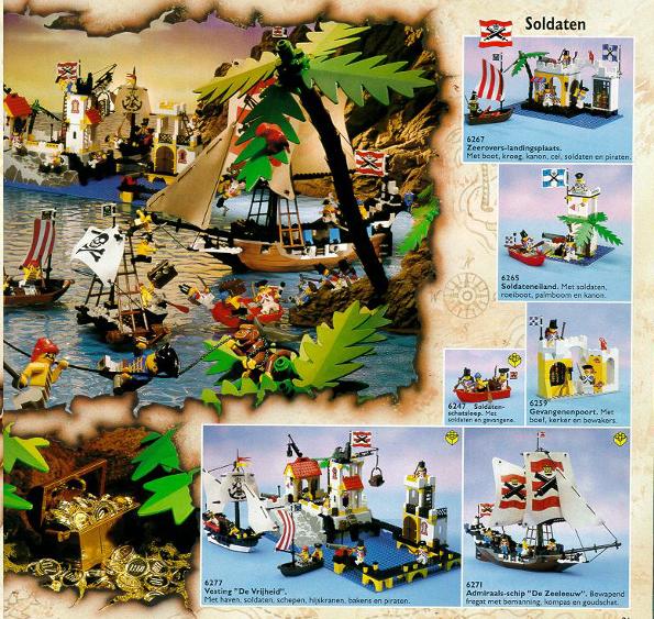 LEGO Pirates 1992 set