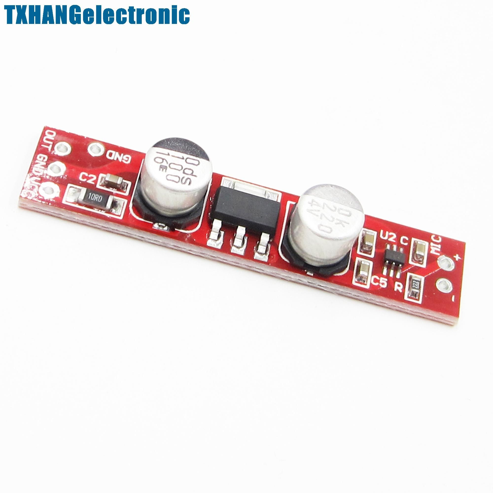 Max9812l Dc 36v 12v Electret Microphone Amplifier Amp Board Yesterdays Price