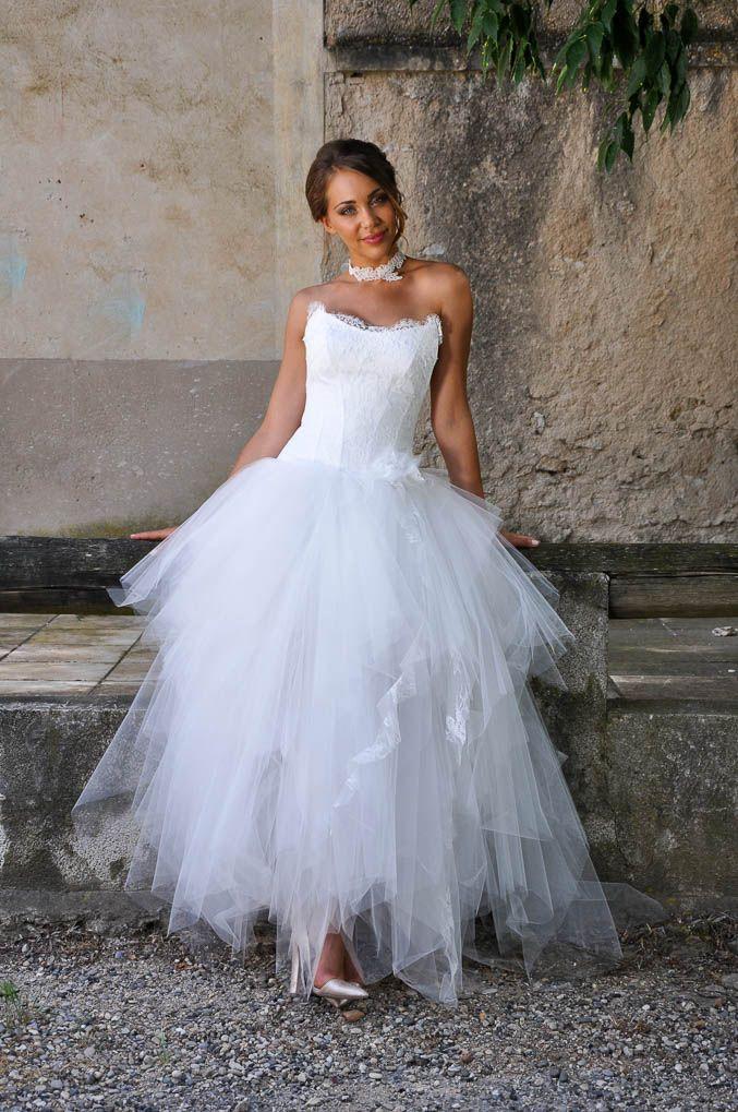 Robe de mariée pour petite taille   Robe