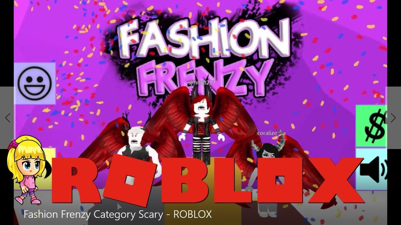 Roblox Fashion Frenzy Category Scary | Roblox | Fashion