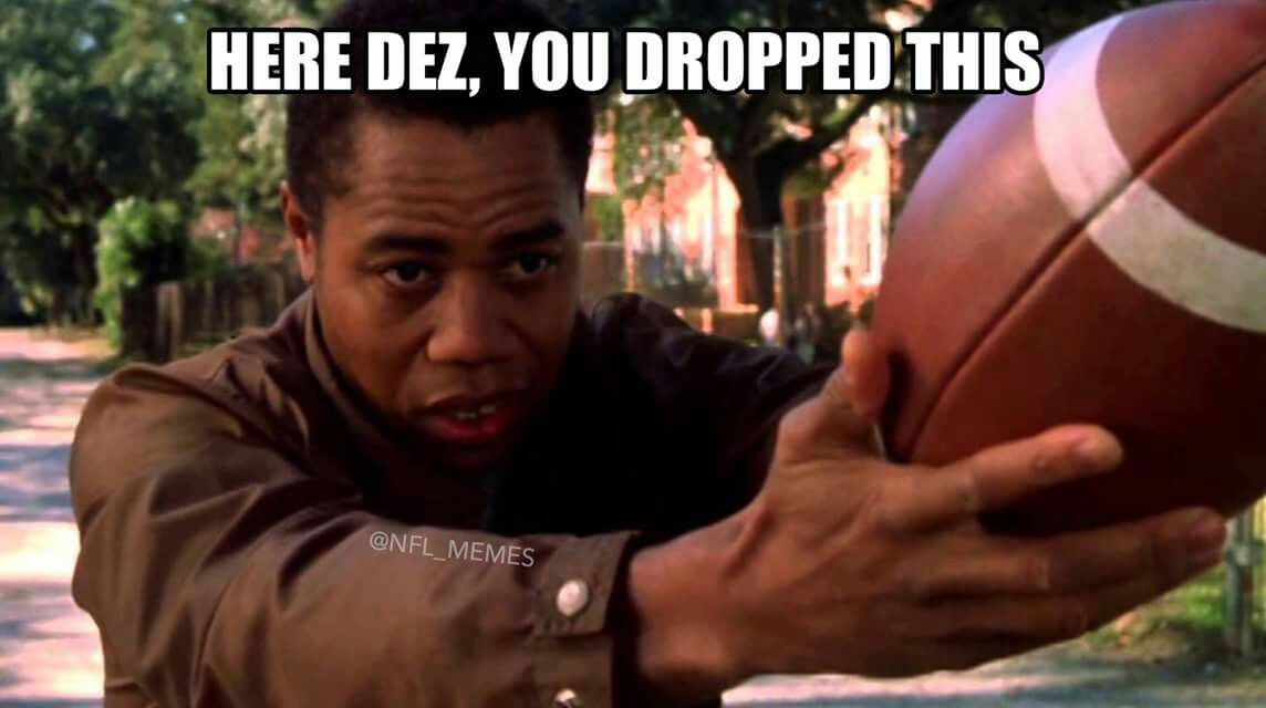 Dez Bryant Has More Dropped Balls Than Fantasy Points 12 12