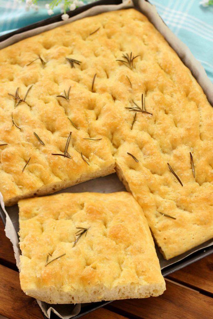 Ricetta Focaccia Genovese Benedetta.Focaccia Soffice Fatto In Casa Da Benedetta Ricette Ricette Di Cucina Cibo