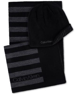 CALVIN KLEIN Calvin Klein Men s Hat   Scarf Set.  calvinklein   hats ... 2157c0919e6