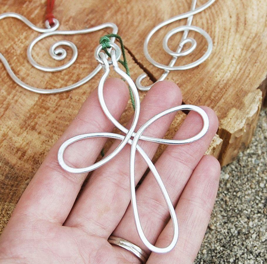 Ornament. Pendant. Silver. Aluminum. Celtic. Cross.. $14.00, via ...