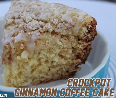Crockpot Cinnamon Coffee Cake Recipe Crock Pot