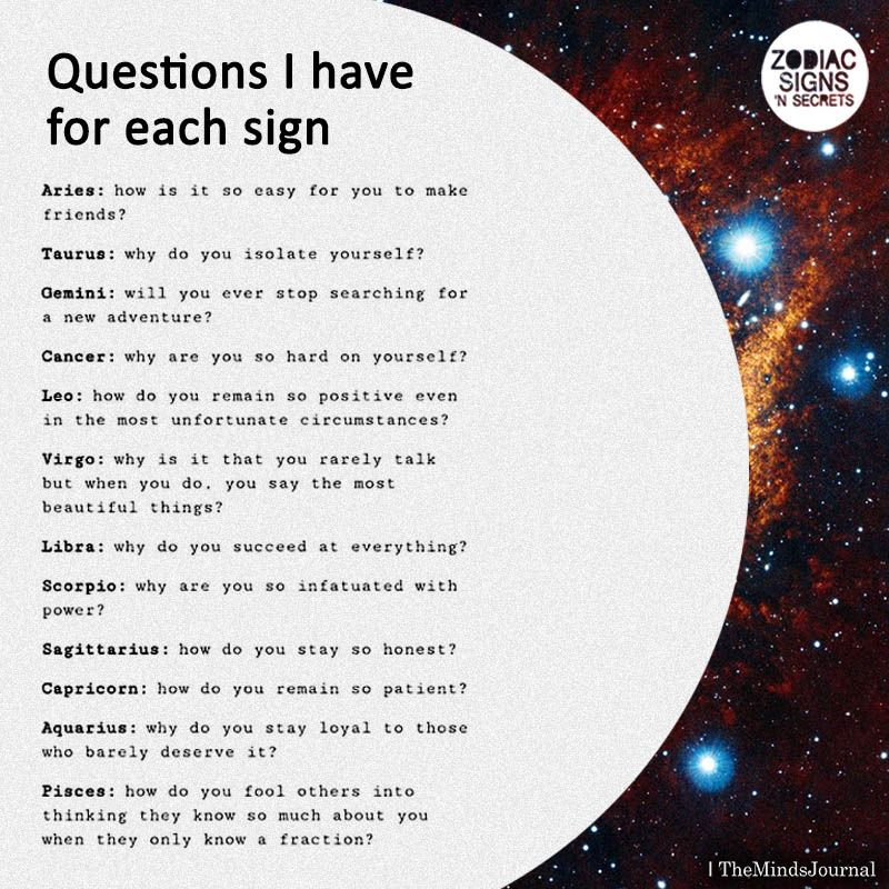 astrological answers to my questions