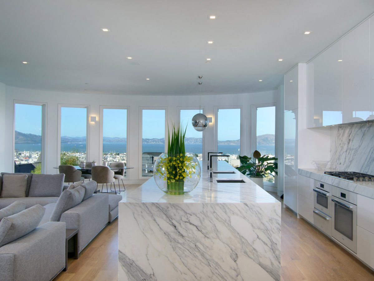Go Inside The Most Expensive Home In San Francisco On The Market For 28 Million Expensive Houses Luxury Kitchens Home Decor