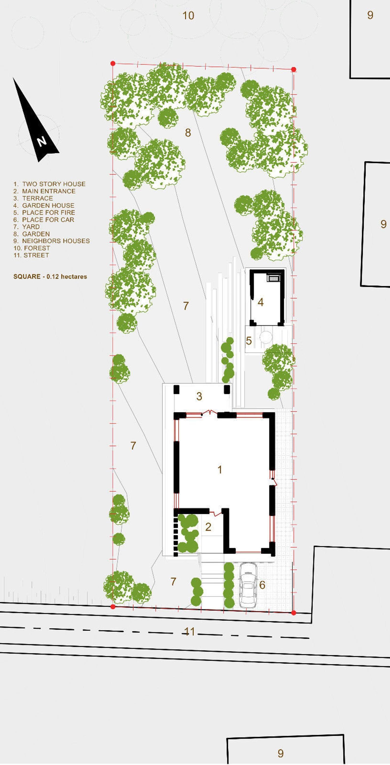 Modern House Plan Building Plans Blueprints & Material List   Etsy ...