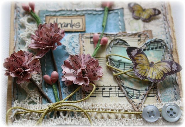 Tutorial for the flowers Such a Pretty Mess