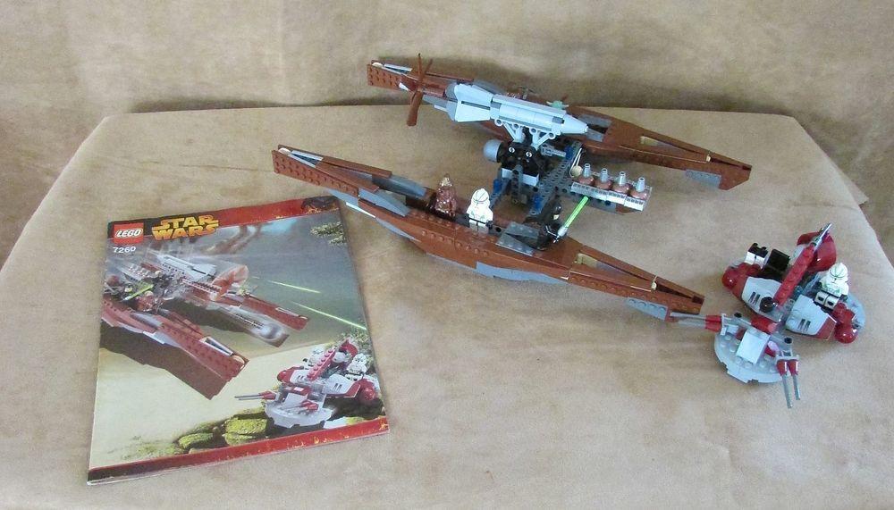 7260 Lego Complete Star Wars Episode Iii Wookiee Catamaran Luminara