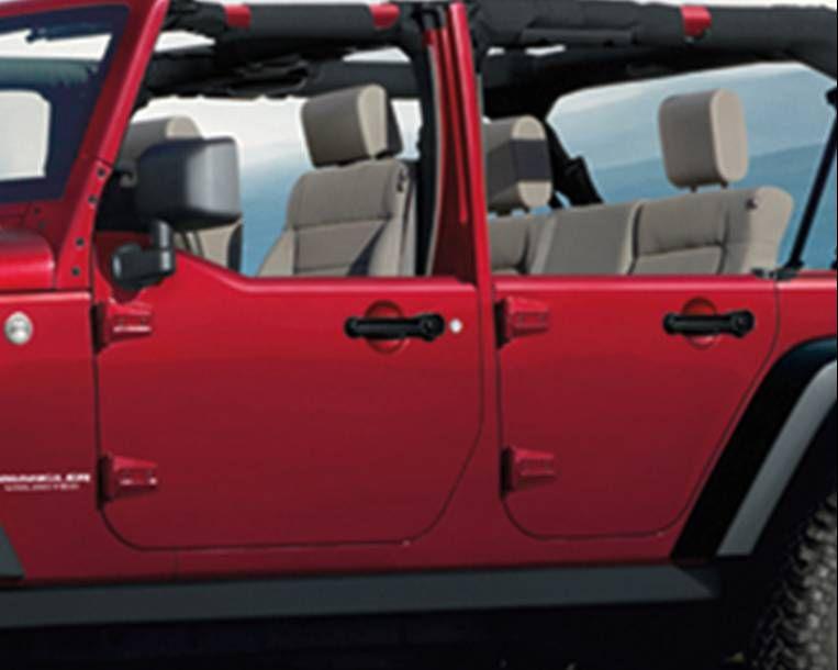 Mopar Rear Half Door Kit For 2007 2018 Wrangler Jk Jeep Half Doors Jeep Wrangler Jeep Wrangler Interior
