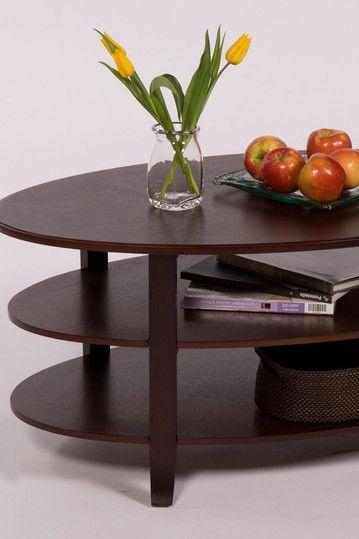 London Espresso 3 Tier Coffee Table Hautelook Coffee Table 3 Tier Coffee Table Table