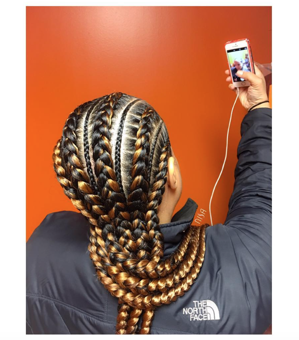 how long should your hair be to get cornrows