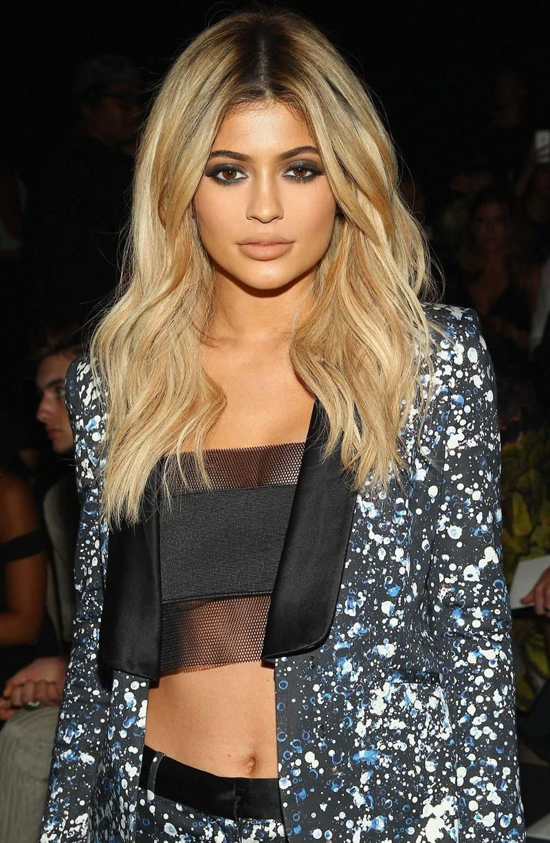 Spotted Once More With Honey Blonde Hair Kylie Jenner Seen At Prabal Gurung