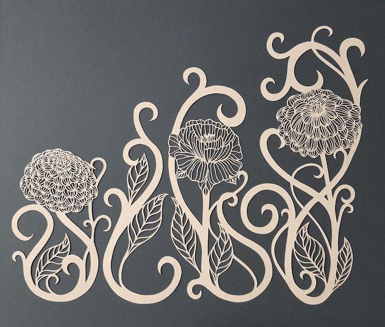Eye-Catching Nature Inspired Paper Cutting Art by Pippa Dyrlaga.|CutPasteStudio| Illustrations, Entertainment, beautiful,creativity, drawings, Art,Artist, Artwork,nature,animals, paper cutting.