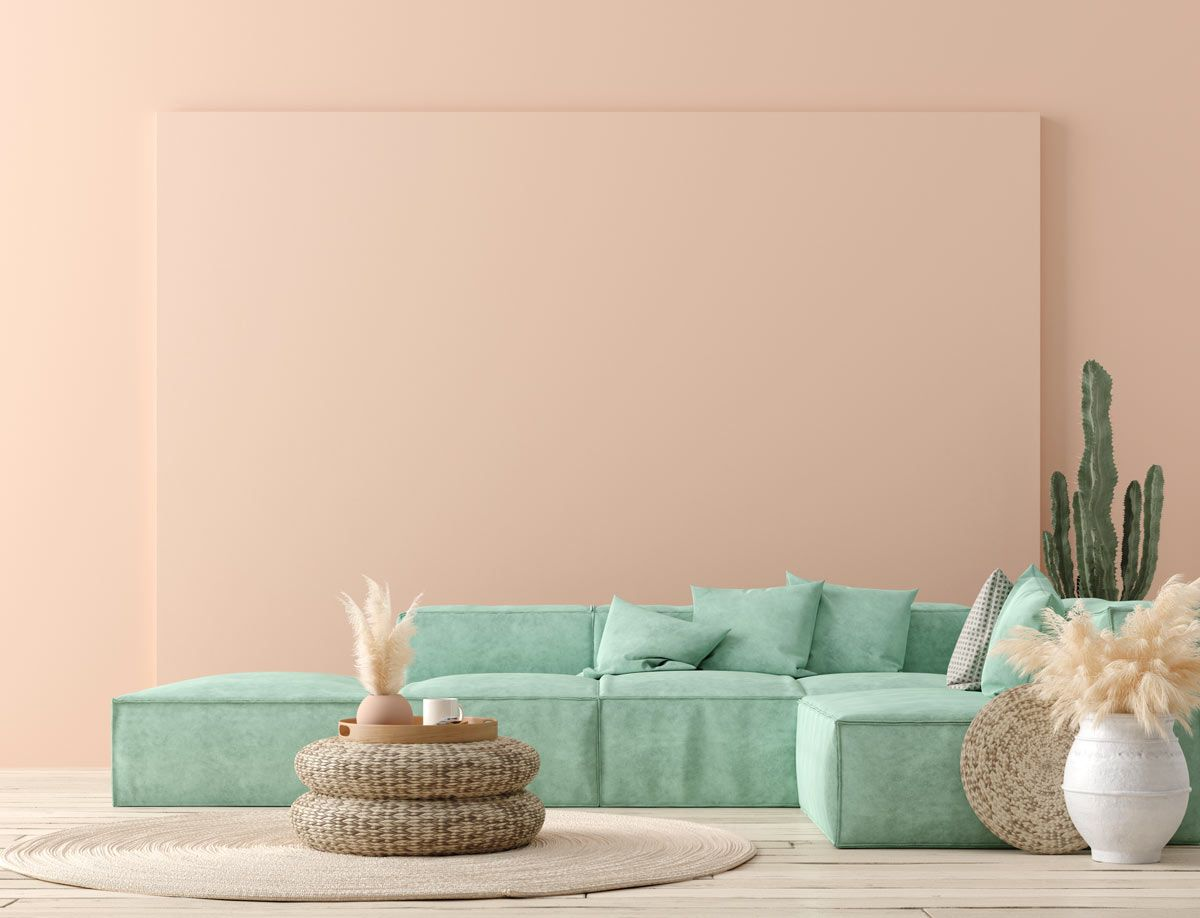 Arredare Casa Con I Colori Pastello Idee Per Soggiorno E Camera Da Letto Nel 2021 Colori Pareti Interni Moderni Salotti Viola