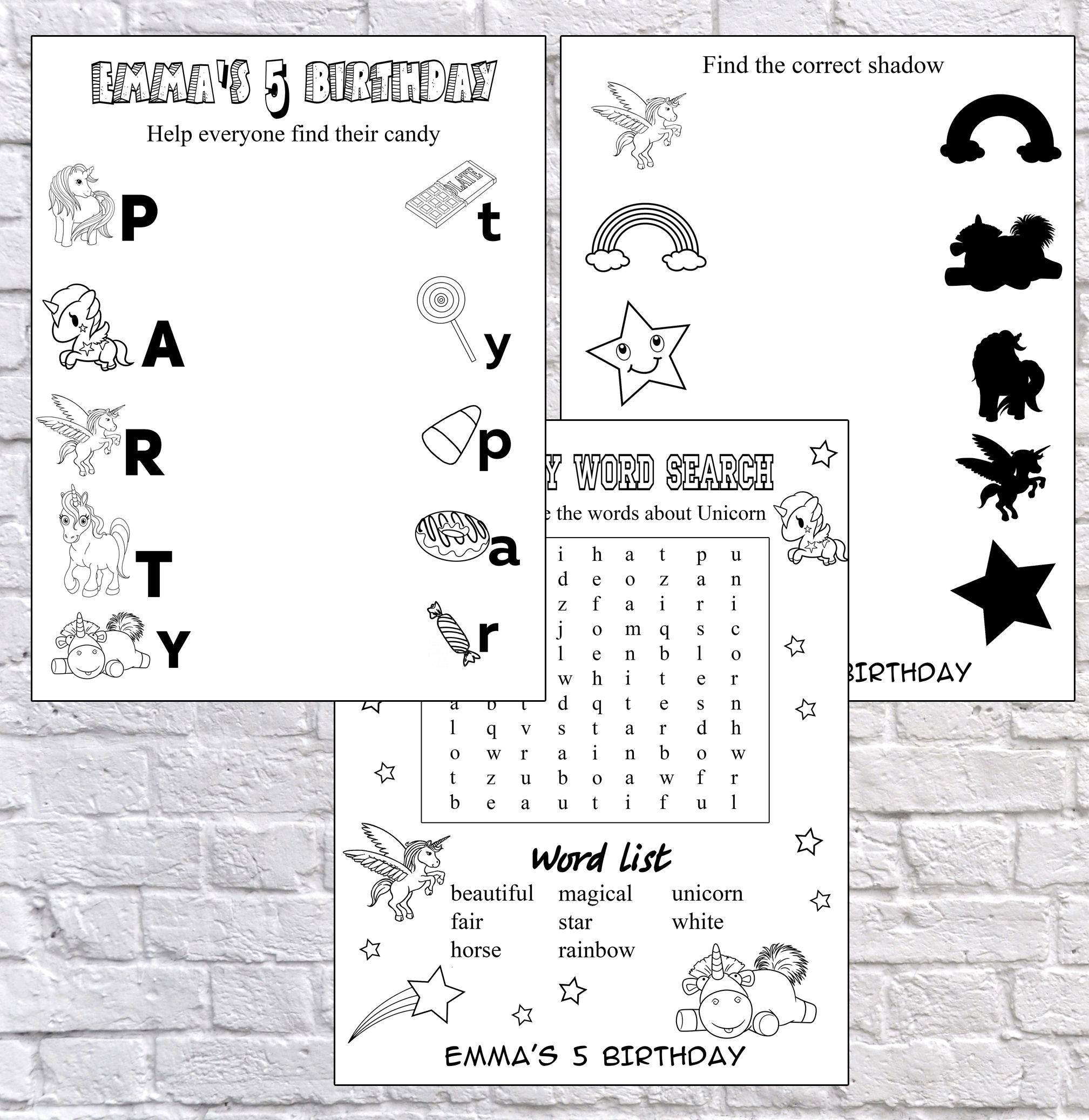 Party Games Coloring Coloring Page Activity Pages Zootopia Color Page Unicorn Party Unicorn Game Colorful Party Unicorn Party R Words