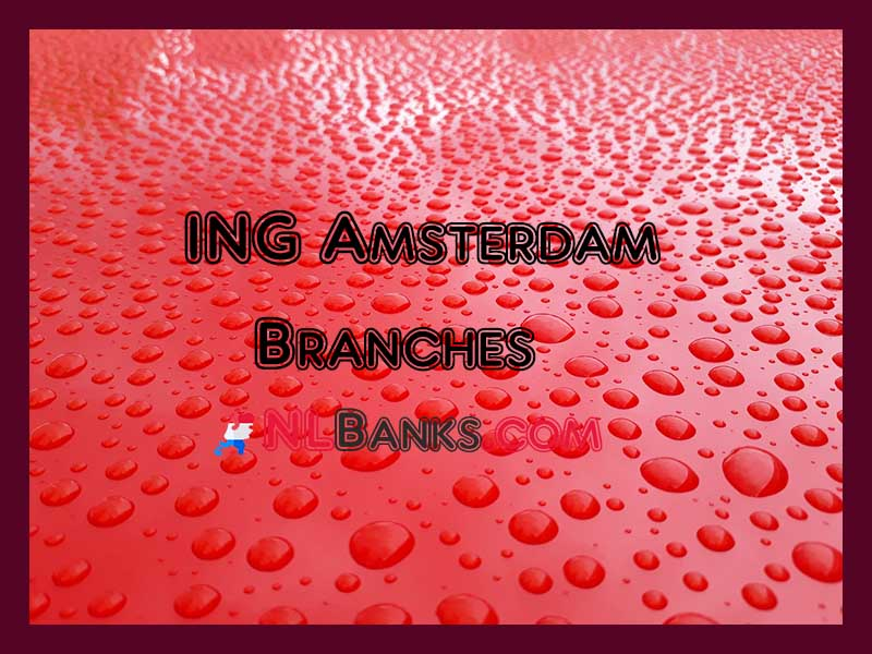 In This Article We Have Provided Detailed Information Regarding Ing Amsterdam Branches And Opening Hours Ing Amsterdam Branche In 2020 Amsterdam Branch North Holland