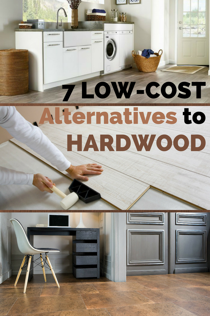 The 7 Best Low Cost Alternatives To Hardwood Flooring Low Cost Flooring Inexpensive Flooring Cheap Flooring