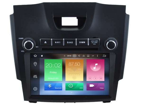 Octa 8 Core Android Car Dvd Player For Isuzu D Max Car Audio Gps