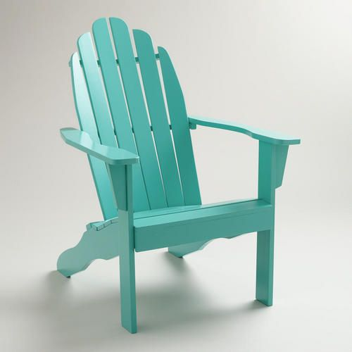 For The Front Porch Outdoor Chairs Blue Adirondack Chair