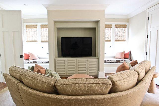 Luxurious Round Sectional Sofa For Circular Living Room Design Fascinating Circular Living Room Design Design Ideas