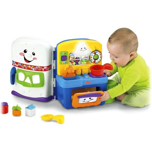 Fisher Price Learning Kitchen: Fisher-Price Bilingual Laugh And Learning Kitchen