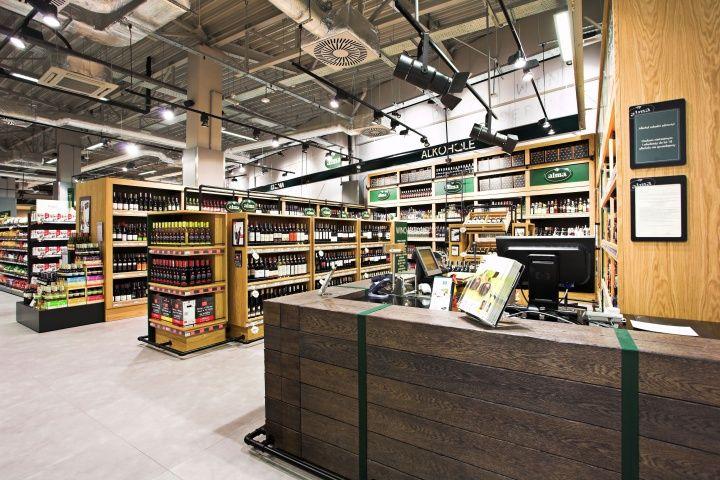 Supermarket Design | Retail Design | Shop Interiors | Alma grocery