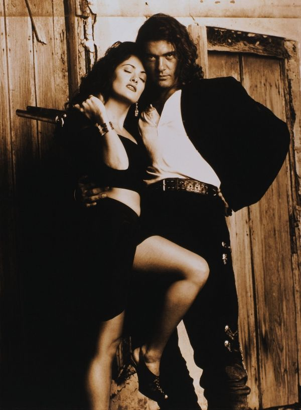salma hayek and antonio banderas in desperado | Stars in