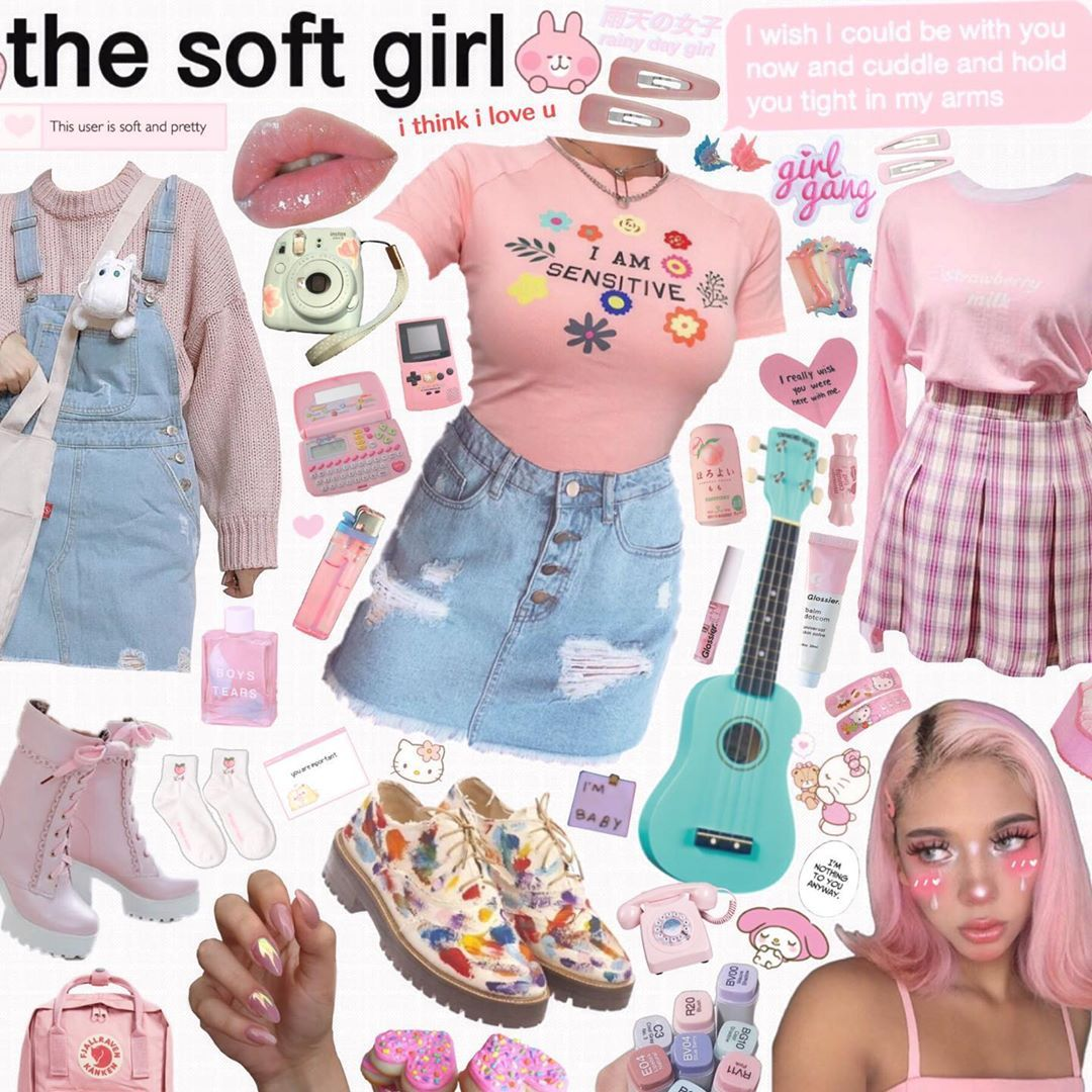 Hello Starlight On Instagram The Soft Girl Like And Follow For More Niche Memes Li In 2020 Mood Clothes Aesthetic Clothes Aesthetic Fashion