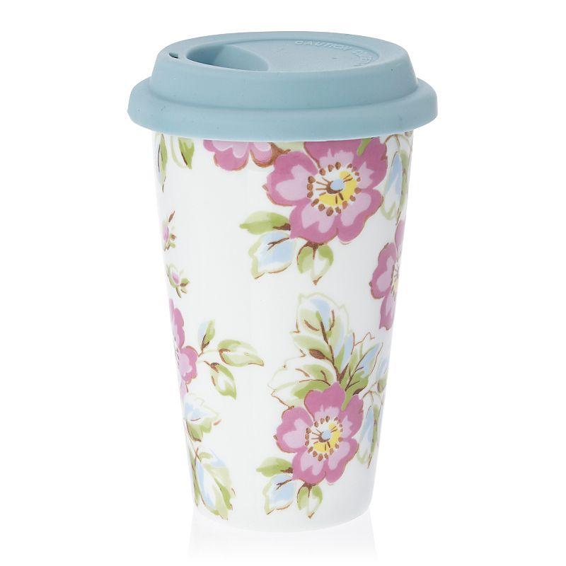 Katie Alice Candy Flower Travel Mug English Tea Garden
