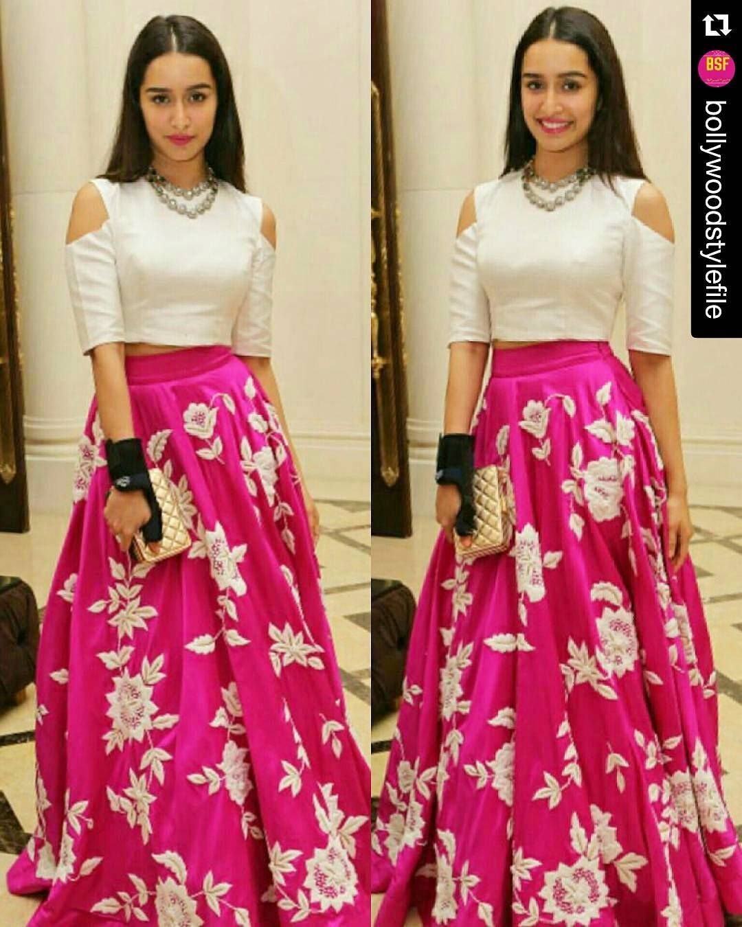 52011dde67774 Repost  BOLLYWOODSTYLEFILE Rate the look110.Beautiful Shraddha ...