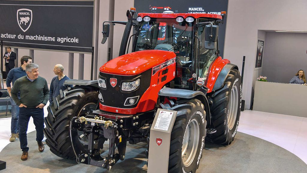 Mancel F 5 Traktor Traktor Landmaschinen Schlepper