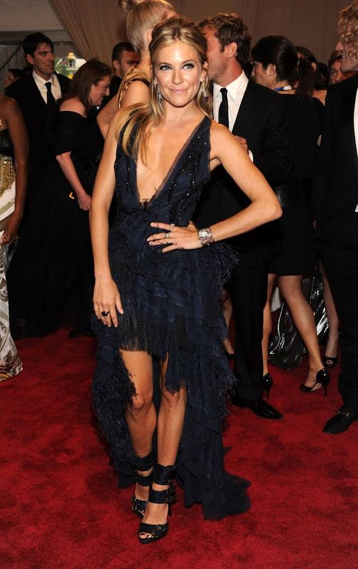 Sienna Miller in Pucci at the 2010 Met Gala