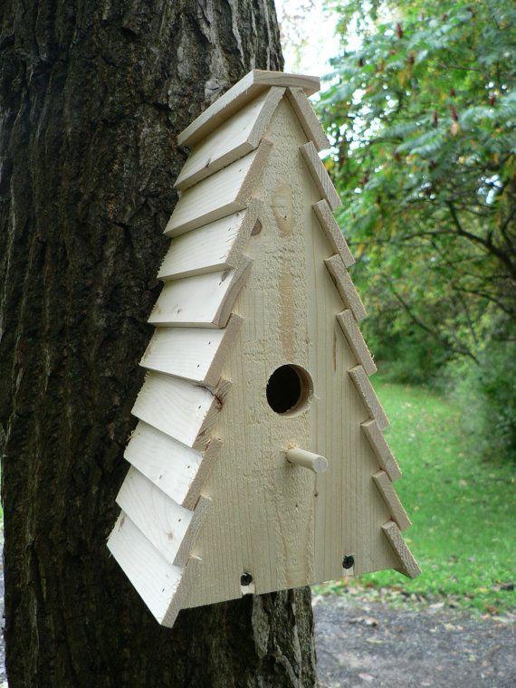 Wooden Birdhouse The Shack