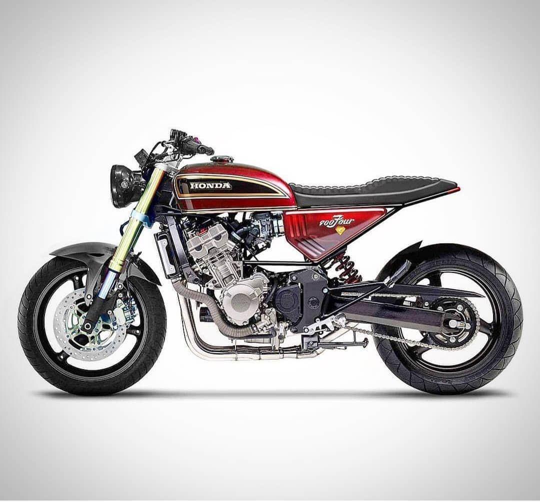 Best Cafe Racer Motorcycles On Instagram Fantastic Honda