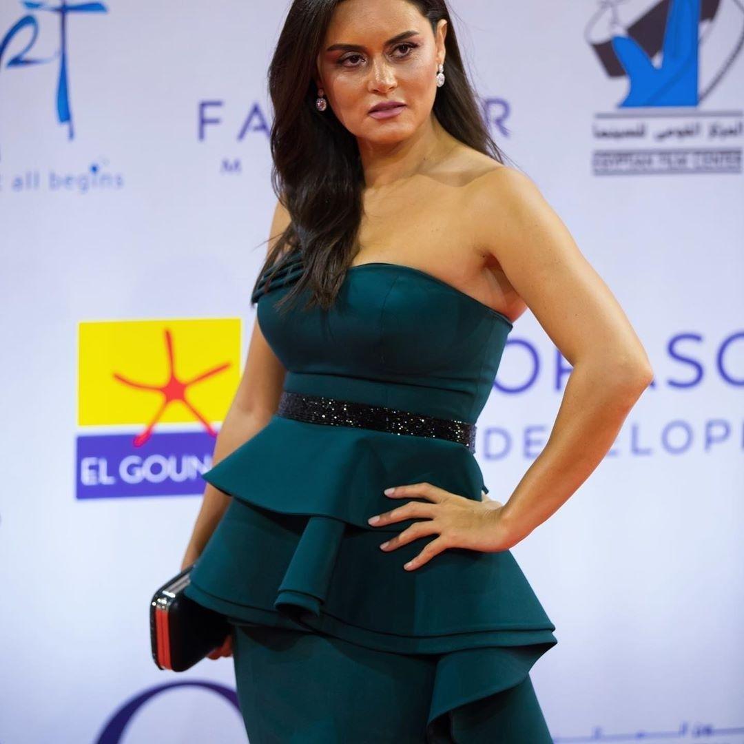 Rasha Mahdy From El Gouna Film Festival 2019 Instagram Fashion Celebrity Style Fashion