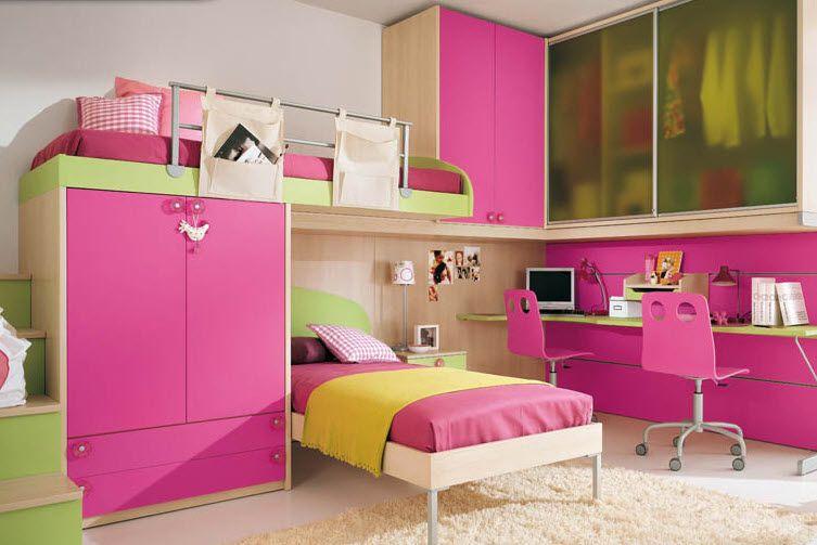 Cuarto muy bonito para ni as cuartos pinterest bonito for Decoracion de dormitorios para ninas
