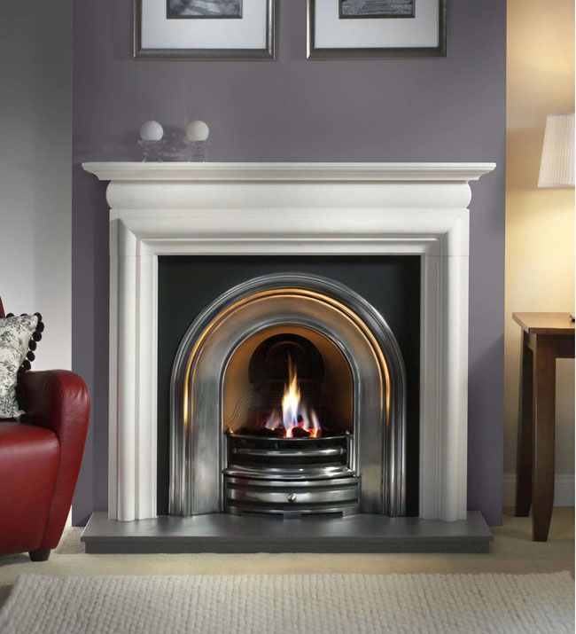 Asquith Agean Limestone Surround, From Gallery Fireplaces ...