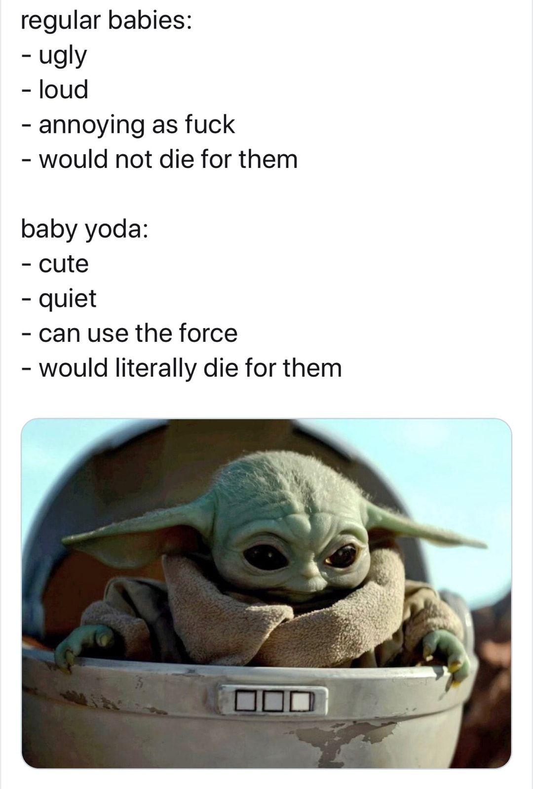 Best 10+ Baby Yoda Memes Yoda meme, Star wars jokes