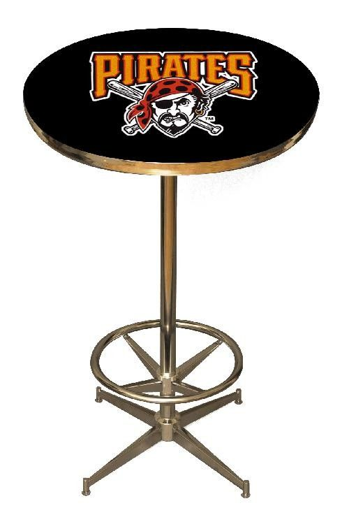Phenomenal Pittsburgh Pirates 40In Pub Table Home Bar Game Room Mlb Squirreltailoven Fun Painted Chair Ideas Images Squirreltailovenorg