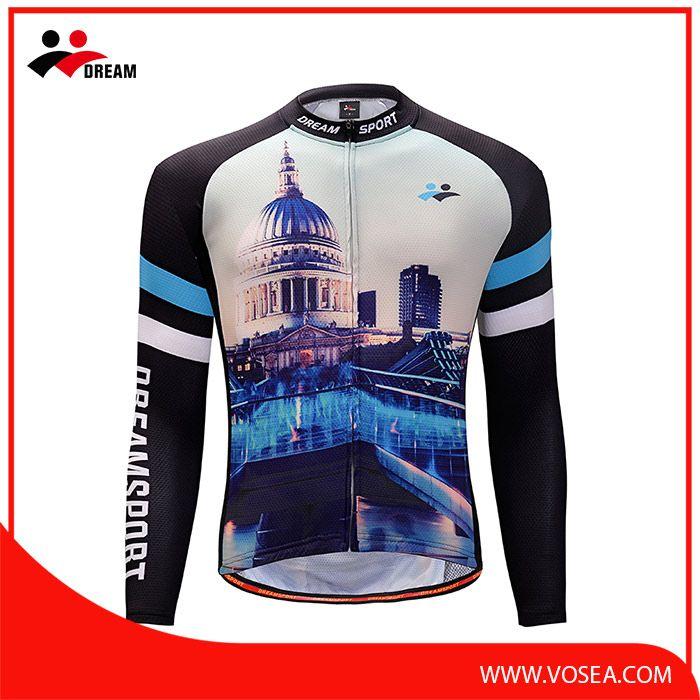Accept custom sublimation wholesale long sleeve mountain bike jersey ... d608d721d