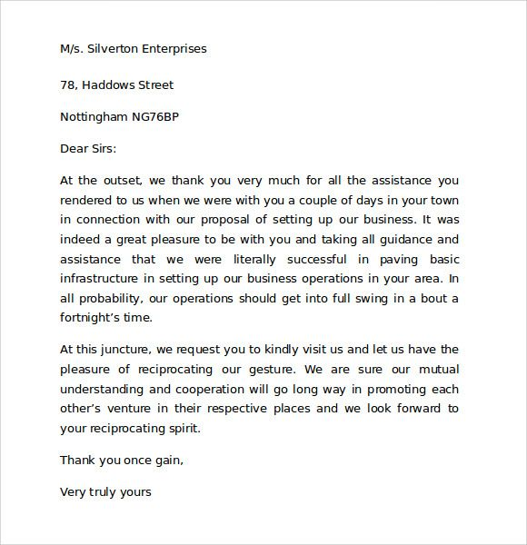 Thanksgiving Letter Customers Client Templates Free Sample Example