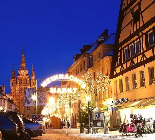 Which Country Hosts Striezelmarkt A Christmas Market Thats Been Held Since 1434.Ansbach Weinnacht S Markt Christmas Market In Ansbach I