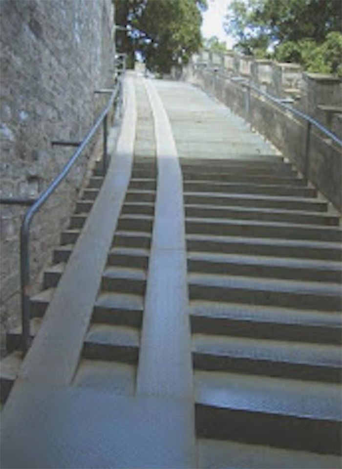 Rampas buscar con google rampas y escaleras for Handicap stairs plans