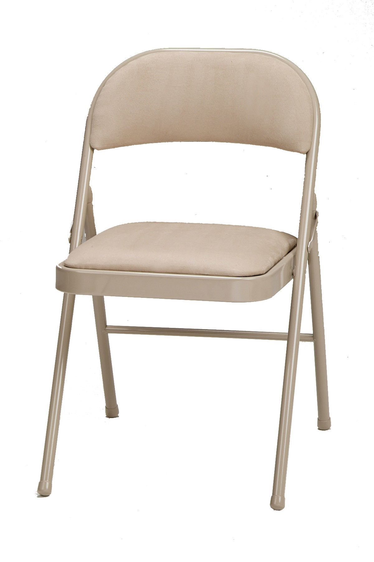 Awesome Deluxe Fabric Padded Folding Chair Products Padded Lamtechconsult Wood Chair Design Ideas Lamtechconsultcom